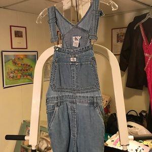 Vintage Calvin Klein Jean overalls